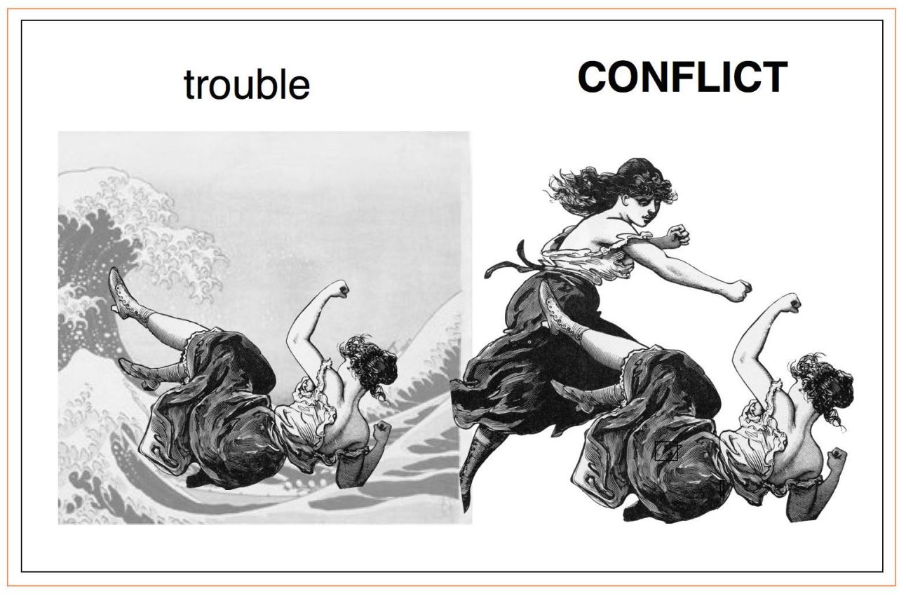 trouble-conflict